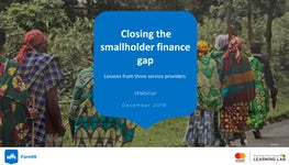 191211 webinar closing the smallholder finance gap final version